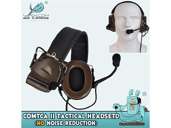 Z-TAC ZTAC Zタクティカル 無線 通信 ヘッドセット コムタック